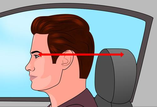 Hướng dẫn cách tựa đầu hợp lý để có được tư thế ngồi xe ô tô chuẩn hơn