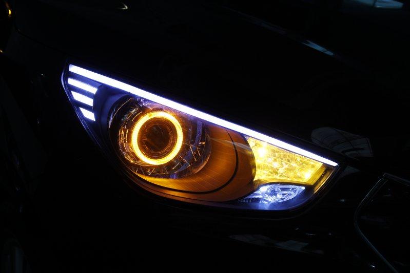 độ đèn ô tô sai quy định