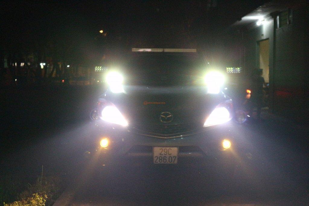 Từ chối đăng kiểm với những xe chơi độ đèn
