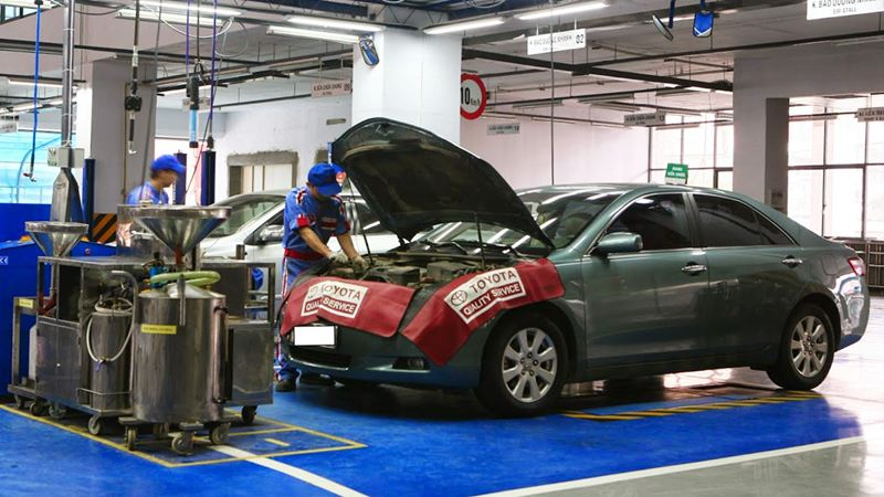 Bảo dưỡng xe thường xuyên để chiếc xe hoạt động ổn định, lái xe tiết kiệm xăng tốt nhất