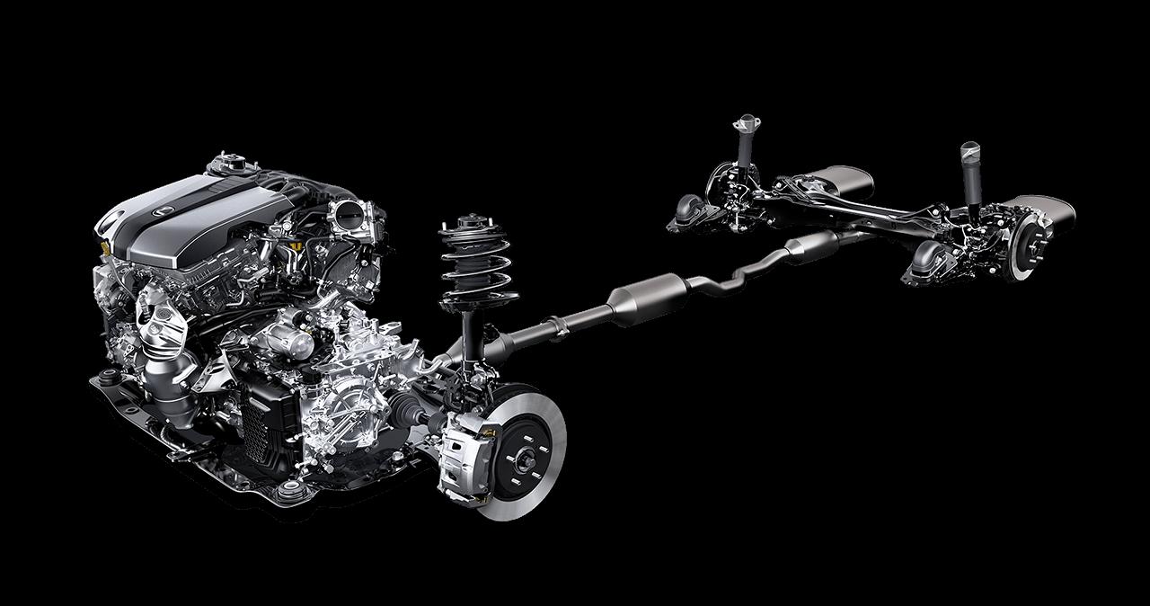 khung xe chắc chắn Lexus ES 350 2019