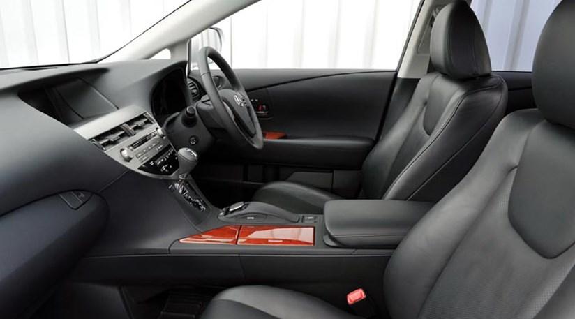 về nội thất xe lexus rx450h 2009