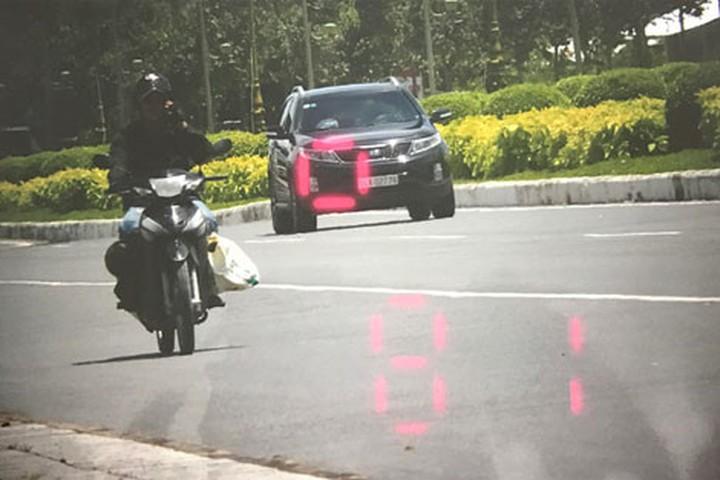 lỗi xe ô tô chạy quá tốc độ