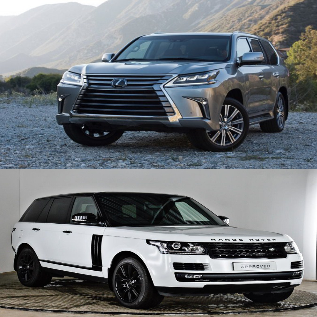 Lời giải đáp dành cho các đại gia còn đang phân vân Range Rover hay Lexus LX570
