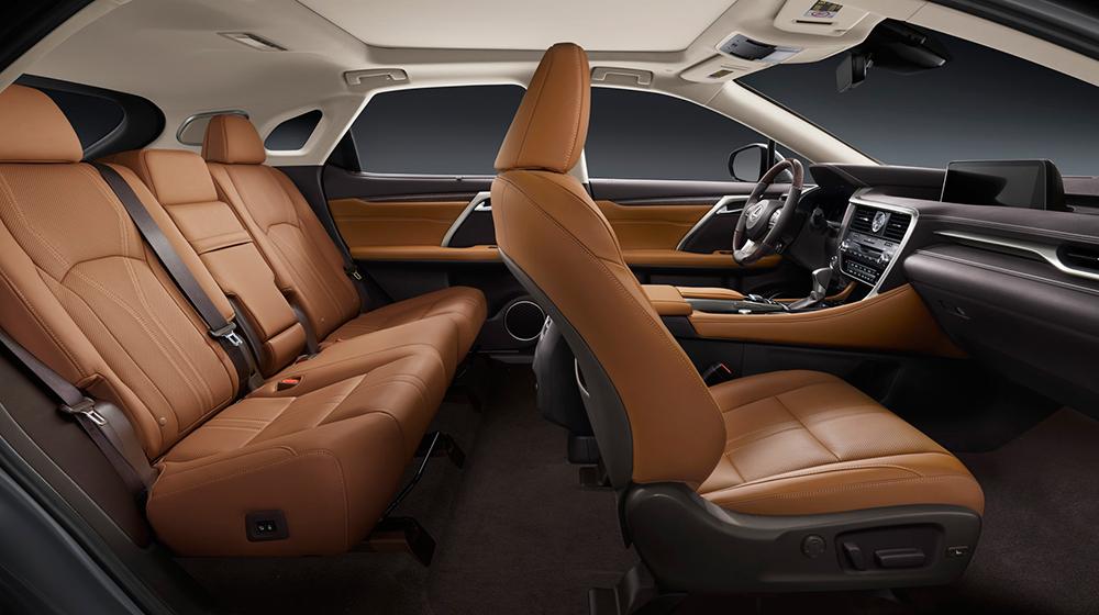 Đánh giá nội thất xe Lexus RX350