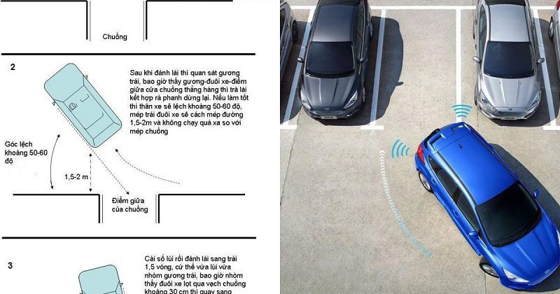 Chú ý di chuyển xe thật chậm để đảm bảo an toàn