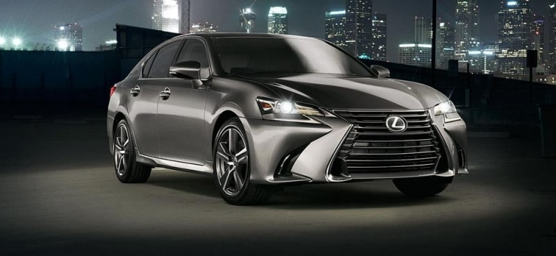 Lexus GS màu Titanium