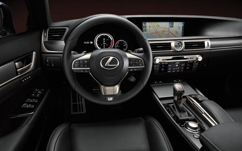Thiết kế nội thất đầy sang trọng của mẫu xe Lexus GS