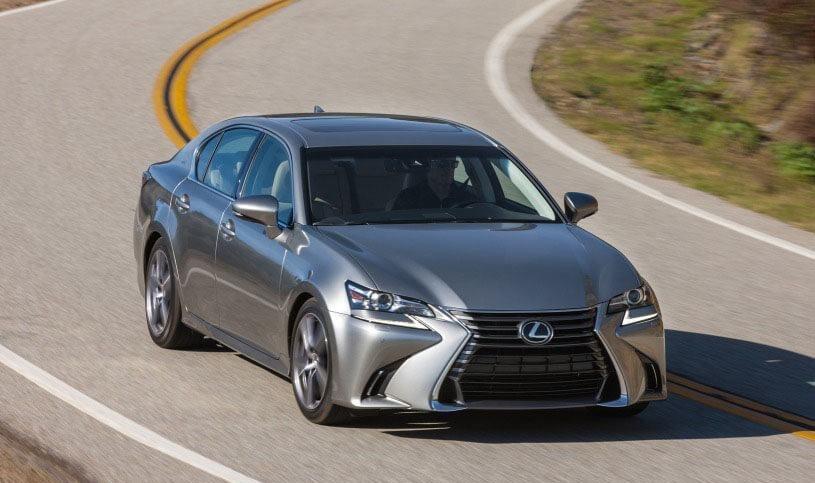 Dòng xe Lexus GS phiên bản màu ghi