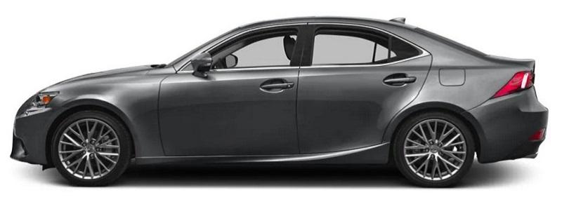 Cho dù là phiên bản xe cũ nhưng Lexus IS250 vẫn là dòng xe hạng sang