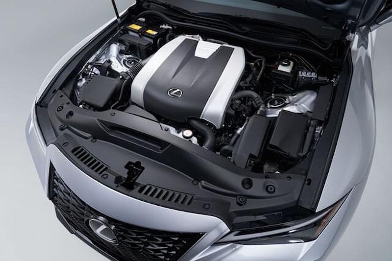 Động cơ được nâng cấp từ động cơ của dòng xe cũ