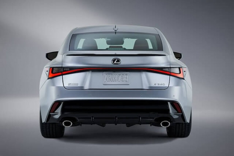 Hình ảnh thiết kế ở đuôi xe